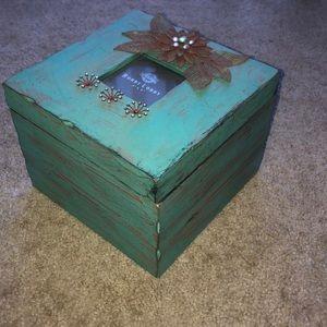 Turquoise Decorative Box